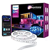 Govee Outdoor LED Lights, 32.8ft LED Strip Lights with IP65 Waterproof Rating, App Control, 64 Scene Modes and Music Mode Outdoor Lights for Home, Garden, Patio, Balcony, Roof, Porch(2x16.4ft)