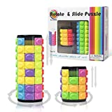 3D Puzzles Decompression Magic Cubes DIY Cylinder Puzzle (4 Layers + 8 Layers)