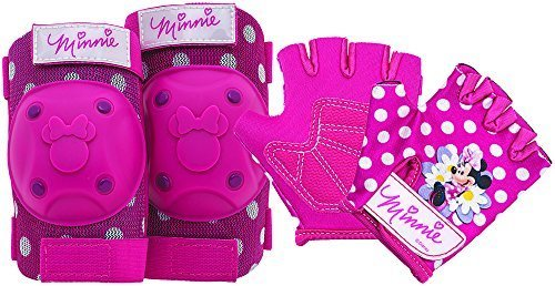 Bell Minnie Mouse Protective Gear with Elbow Pads/Knee Pads and Gloves by Bell