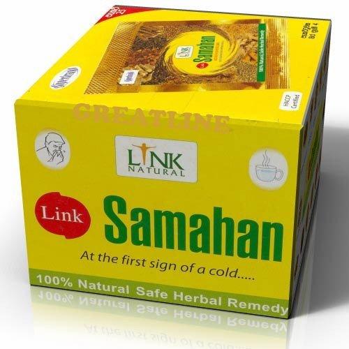 Samahan Ceylon - Confezione da 200 bustine di tè alle erbe aromatiche ayurvediche