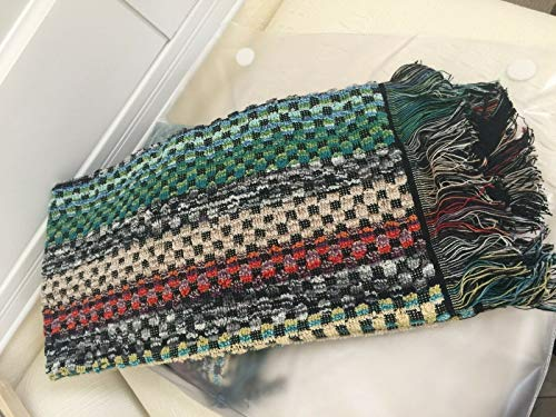 Missoni Home Portugal 2X VIRGINIO Hand Towels Set 100% Cotton Multi Color