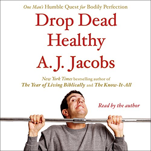 Drop Dead Healthy audiobook cover art