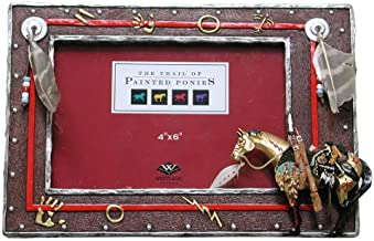 Enesco Trail OF Painted Ponies - Medicing Horse Frame