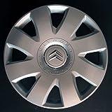 Set of 4 New Wheel Trims for Citroen C4 / C1 / C2 / C3 / C5 / C8 / Nemo/Berlingo/Xsara Picasso/Jumpy with Original Rims in 16 Inches