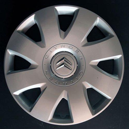 Wheeltrims Lot de 4 enjoliveurs Neufs pour Citroen C4/C1/C2/C3/C5/C8/Nemo/Berlingo/Xsara Picasso/Jumpy avec Jantes d'origine en 40,6 cm