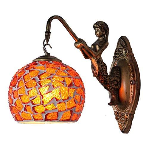 Lámpara de Pared Aplique de pared Luces de pared creativo del arte apliques de la pared de la lámpara de cristal de Bohemia de la pared de la lámpara de noche for Habitación Sala Pasillo Cafe