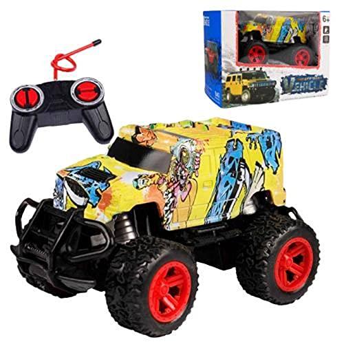 N\C Coche de juguete de control remoto coche deriva alta velocidad todoterreno truco coche carreras de juguete inalámbrico Control remoto todoterreno modelo de vehículo coche de juguete para niños