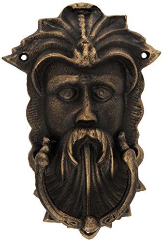 Design Toscano Sutherland House Greenman Authentic Foundry Door Knocker,Bronze