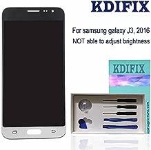 KDIFIX for Samsung Galaxy J3 2016 J320P J320YZ J320VPP j320ZN J320F J320A J320M J320FN J320R4 SM-J320W8 LCD Touch Screen Assembly with Full Professional Repair Tools kit (White)