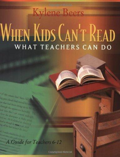 When Kids Cant Read Teachers