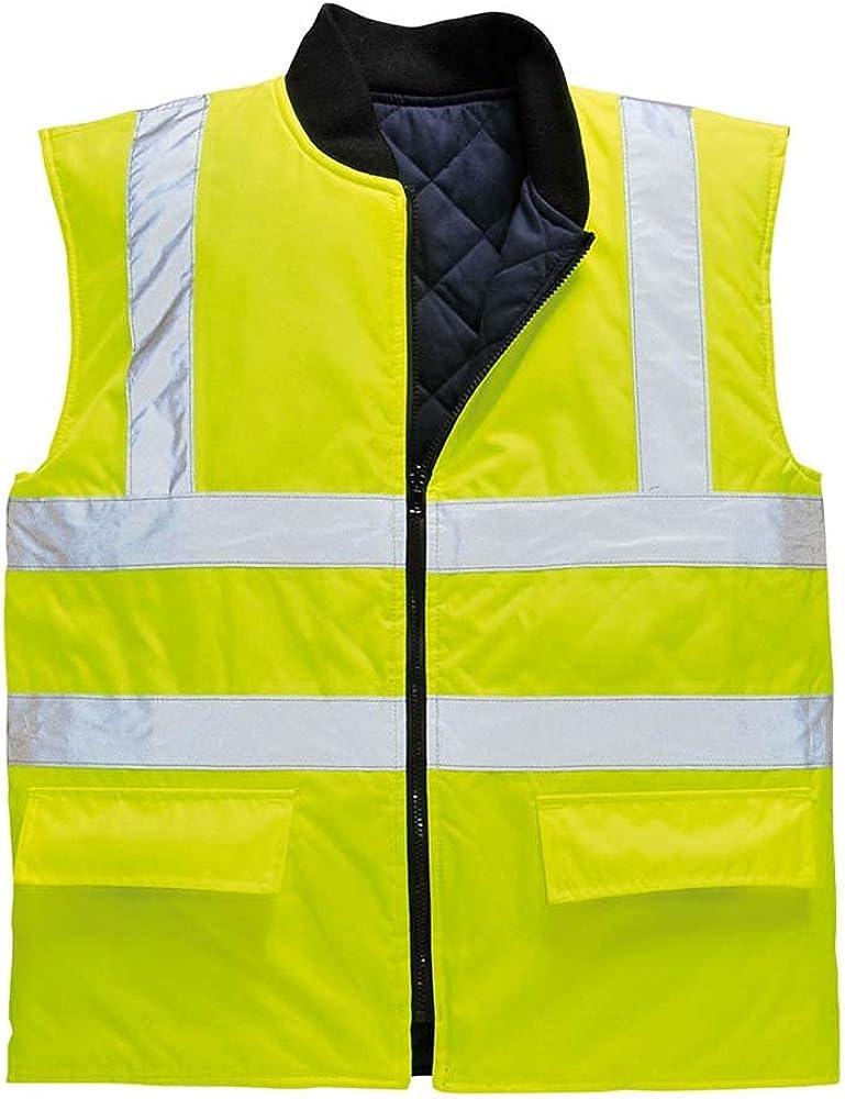 Portwest Workwear Mens Hi-Vis Bodywarmer