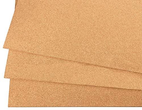 Kork Dämmplatten aus Presskork 900x600 mm - die ökologische und natürliche Art der Isolation (5 mm)