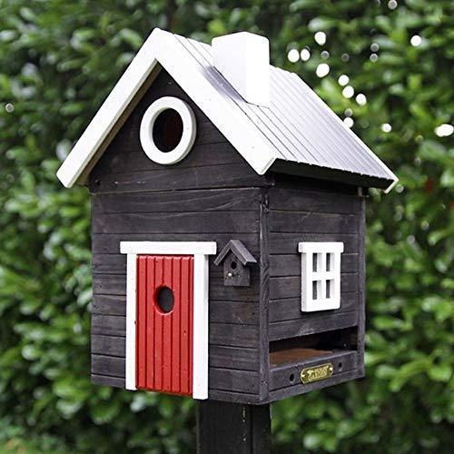 Wildlife Garden Multiholk Nistkasten Vogelhaus DARK VILLA Holz