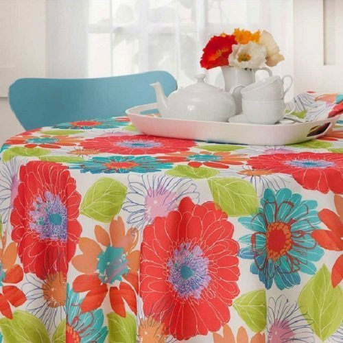Arlee in Bloom Indoor Outdoor Tablecloth (Oblong 60\