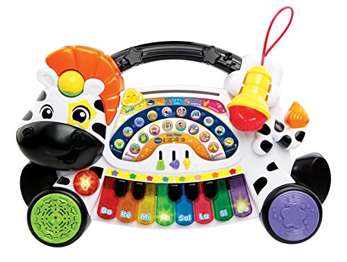 VTech – 179105 – Jungle Rock – Zebra-Keyboard (französische Version)