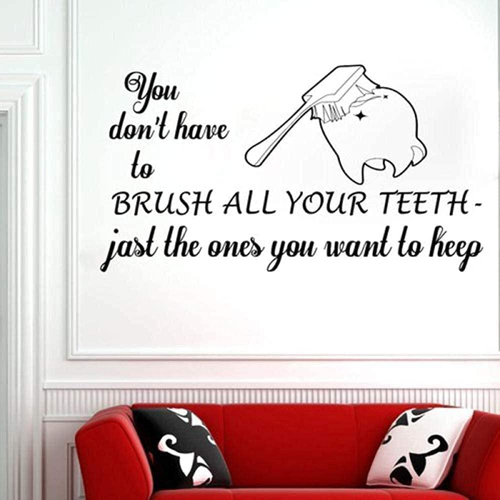 Oakland Mall wwhhh Wall Sticker Price reduction Dental Dentist Dent Smile Clinic