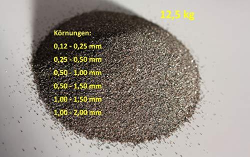 12,5 kg Normalkorund FESI Strahlmittel (0,12-0,25 mm)