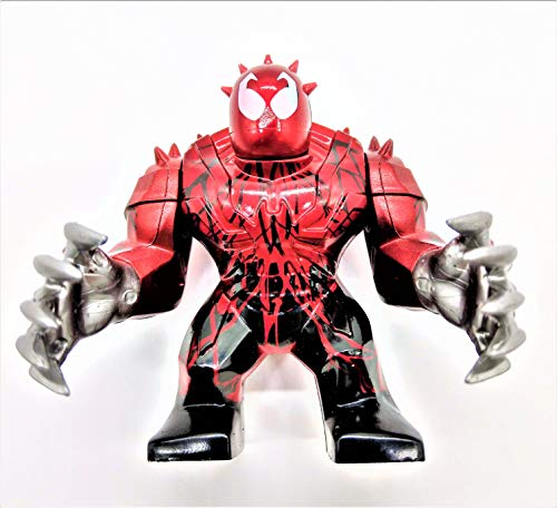 Prodigy Toys Toxin / Carnage Action Figure with Silver Hands Toy with Movable Hands!