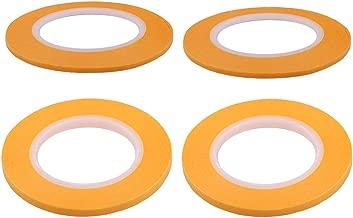 Homyl Pack de 3pcs Ruban de Masquage Peinture Mod/èle Masking Tape Bricolage Pulv/érisation Mod/èle de Peinture Artisanat Outils 2 4mm 3
