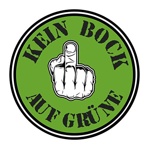 10x sparset kein Bock auf grüne Gretl Greta Druck Plakette Fun Sticker Aufkleber Fridays for Future Klima