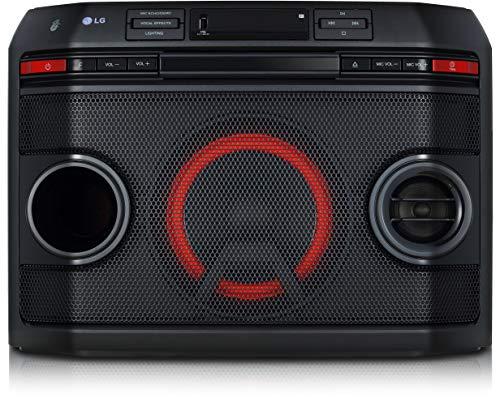 LG Electronics LG OL45 HiFi Anlage XBOOM mit 220 Watt (CD und Radio, USB, Multi-Bluetooth, Karaoke Funktionen), OL45.DEUSLLK