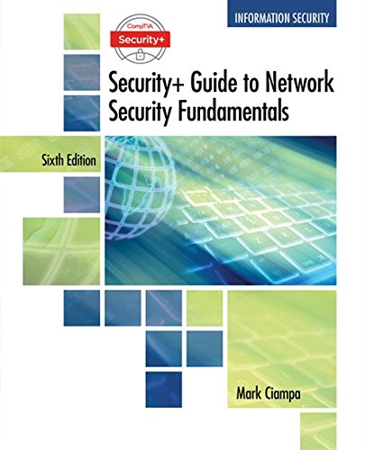 CompTIA Security+ Guide to Network Security Fundamentals - Standalone Book