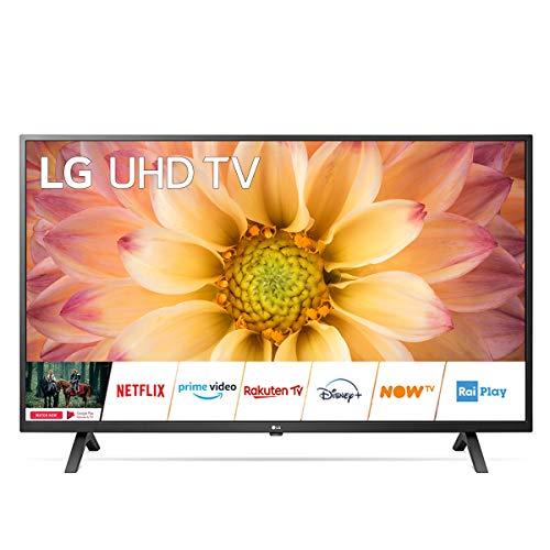 Smart TV 43 Pollici, 4K, DVB-T2, Wifi