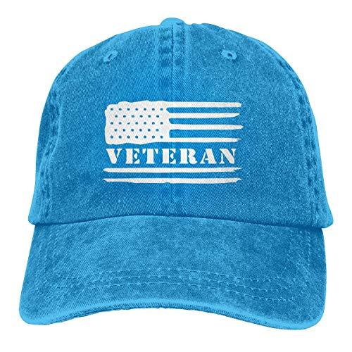 Preisvergleich Produktbild Voxpkrs US Army Veteran Unisex Cowboy Hat Baseball Hats Vintage Adjustable Trucker Hats Cool7019