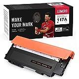LEMERO Tóner negro compatible con HP 117A W2070A [sin chip] para HP Color Laser MFP 179fnw 178nw HP Color Laser 150nw