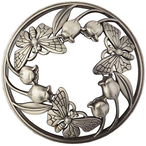 Wakehurst Kerze Deckel, Jar Kerzen Zubehor, Kerzenaufsatz, Teelichtaufsatz, Dekoaufsatz (Schmetterling Stil)
