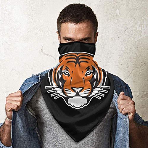 Brandless Princeton Tigers Unisexe Cache-cou Écharpe Extérieure Chaud Coupe-vent Protection de la poussière Multifonctionnel