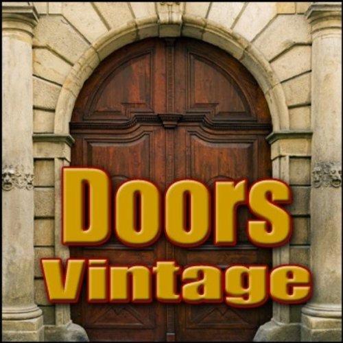 Knocker, Large - Giant Metal Knocker on Solid Wood Castle Door: Knock Two Times Castle, Drawbridge & Stone Doors, Miscellaneous Household, Blockbuster Sound Effects