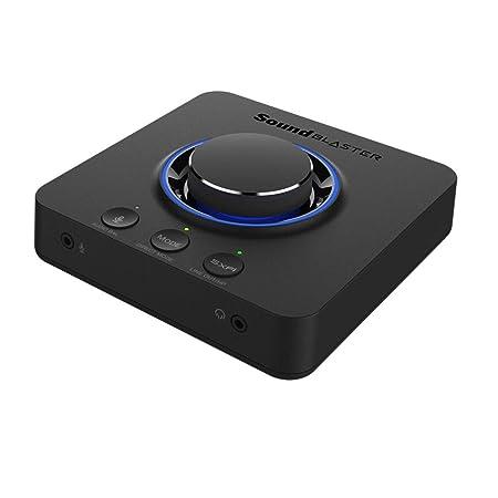 Sound Blaster X3 Super X-Fi搭載USB DAC 最大32bit/192kHz ハイレゾ再生 PCで最大7.1ch再生 PS4 Switch対応 SB-X-3