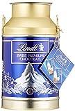Lindt Swiss Naps Milchkanne, Schweizer Berge Edition,  gefüllt mit feinsten Milch und Milch-Nuss Napolitains, Schokoladentäfelchen, 1er Pack (1 x 350 g)