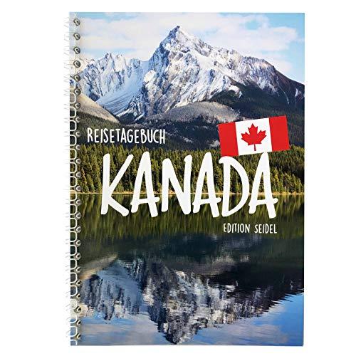 Edition Seidel Reisetagebuch Kanada A5 Ringbuch mit 76 Seiten Packliste ToDo Zitate Fun Facts