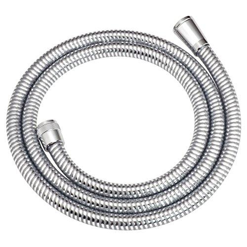 カクダイ(KAKUDAI) シャワーホース 取付簡単 ほとんどのメーカーに対応 1.6m 367-612 メタル調