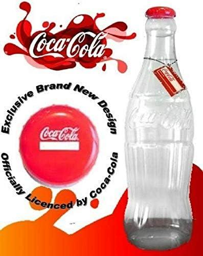 Hucha de plástico de 60 cm (original Coca Cola 60 cm)