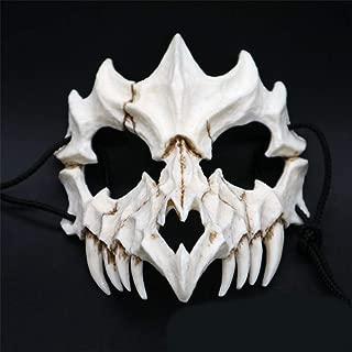 Studyset Japanese Gods Style Deluxe Resin Ninja Mask Prom Performance Art Mask Dragon God