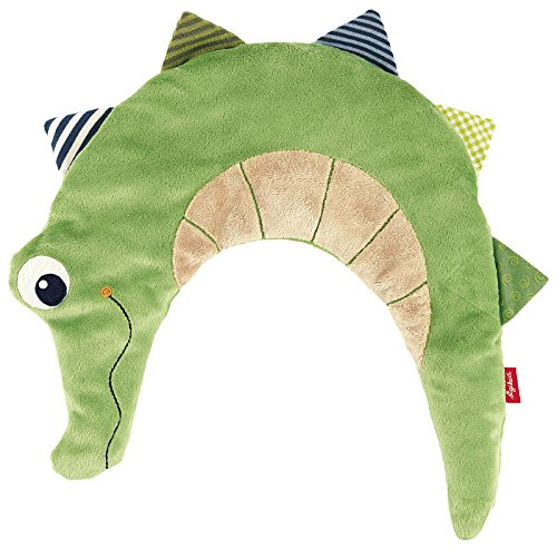 sigikid, Mädchen und Jungen, Wärmekissen Krokodil, Grün, 40998