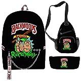 Backwoods Backpack School Usb Backpack...