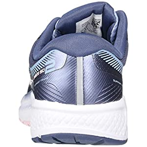Saucony Women's Omni ISO 2 Running Shoe, Slate/Pink, 7 M US