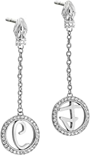 Stainless Steel Earring for Ladies by Just Cavalli, JCER00280100