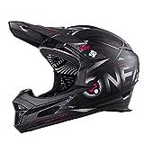 O'NEAL | Casco da Mountainbike | MTB | Secondo lo standard di sicurezza EN1078, aperture di ventilazione per il raffreddamento, calotta esterna in ABS | Fury Helmet SYNTHY | Adulto | Nero | Taglia M