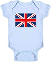 Union Jack Flag Great Britain United Kingdom England Scotland Wales Infant Bodysuit