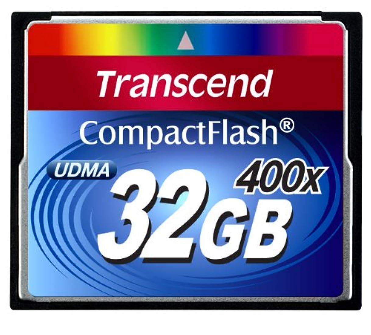 サイクルはっきりしないシーフードTranscend 400倍速CFカード 32GB 永久保証 TS32GCF400