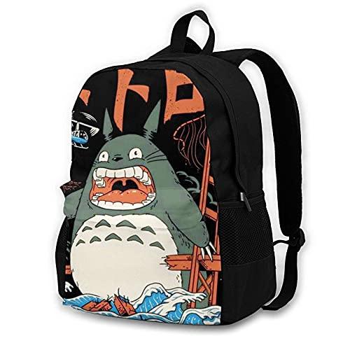 Studio Ghibli High Sierra Mochila Bolsa de viaje para computadora portátil Mochila de senderismo para hombre Mujer