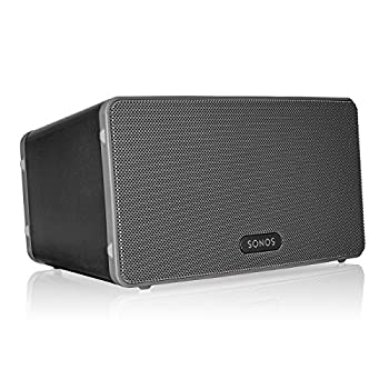 Sonos Play 3 - Mid-Sized Wireless Smart Home Speaker for Streaming Music Amazon Certified and Works with Alexa  Black