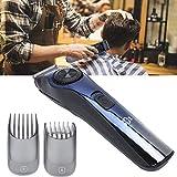 Cortadora de cabello eléctrica, cortadora de cabello recargable por USB, cortadora de barba, cortadora de cabello, herramientas profesionales para cortar el cabello para principiantes, amigable para h