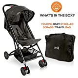 Portable Folding Lightweight Baby Stroller - Smallest Foldable Compact Stroller Airplane Travel, Compact