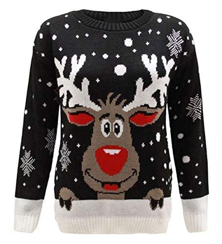 FK Styles–Suéter de Navidad, de...